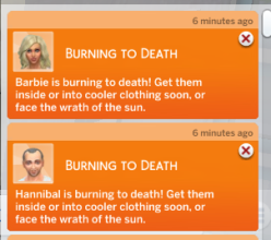 what the heck burning to death